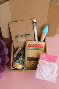 LOTE DE PAPELERÍA BONITA Y CREATIVA- Pretty box tamaño S- Pretty Things Store