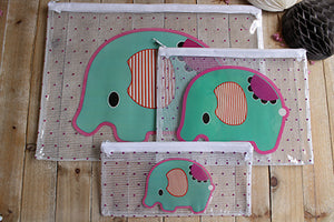 Portadocumentos y estuche elefante - Pretty Things Store