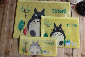 Portadocumentos de plástico, Totoro - Pretty Things Store