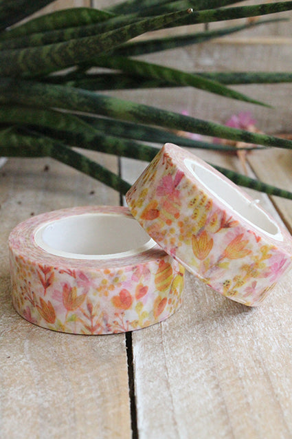 Washi tape, orange spring - Pretty Things Store