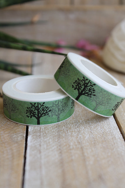 Washi tape, arbolitos - Pretty Things Store
