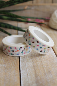 Washi tape, confeti - Pretty Things Store