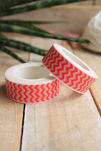 Washi tape, Chevron rojo - Pretty Things Store