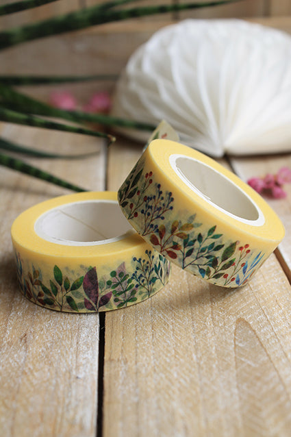 Washi tape, happy flower - Pretty Things Store
