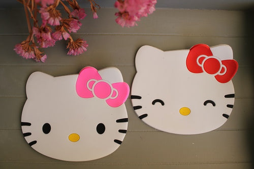 Posavasos Hello Kitty-Rosa - Pretty Things Store