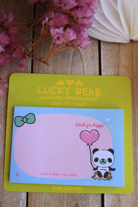 Post it, osito panda - Pretty Things Store