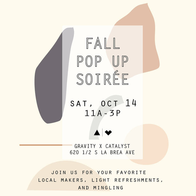 Fall Pop Up Soiree