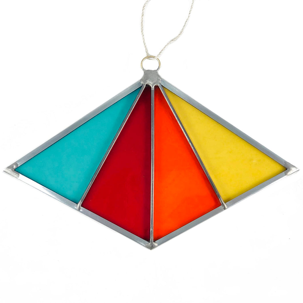Diamond Suncatcher - Red