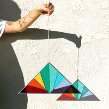 Panel - Large Triangle Rainbow