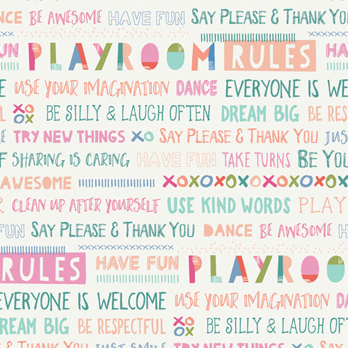 Playroom - Playroom Rules