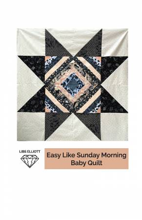 Easy Like Sunday Morning Baby Quilt Pattern