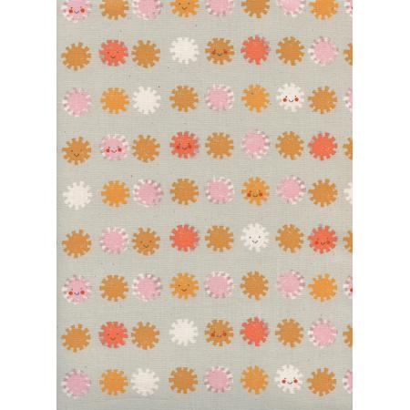 Sunshine - Sunshine - Grey Unbleached Cotton