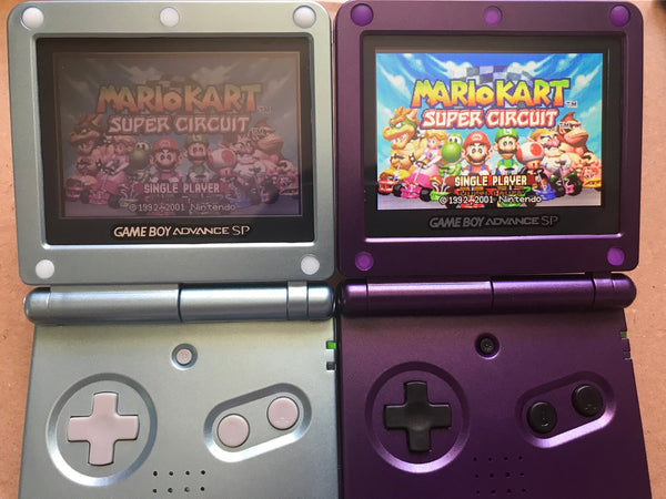 Difference between GBA SP AGS 001 & AGS 101 – God of Gaming