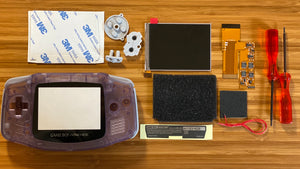 Game Boy Advance IPS Full Mod Kit