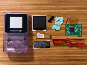 Game Boy Color Backlight Full Mod Kit