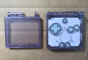 Game Boy Advance SP IPS Mod Console