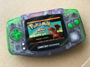 Game Boy Advance AGS-101 Backlit Mod