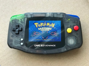 Game Boy Advance AGS-101 Backlit Mod Console