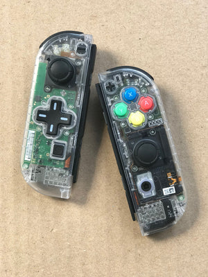Dual-Color Switch Joy-Cons Controllers