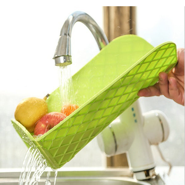 2-in-1 Antibacterial Cutting Board and Wash Basket