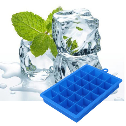 24 Grid DIY Big Ice Cube Mold