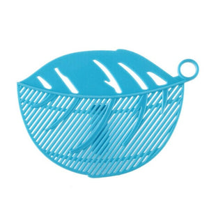1PC Leaf Shape Clip on Sieve