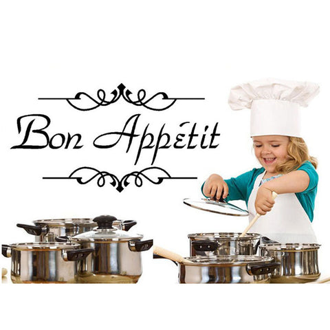 Bon Appetit Wall Sticker