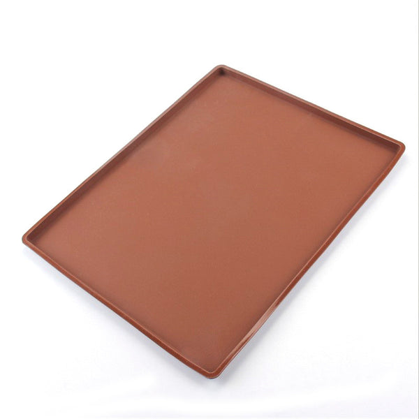 Multi-purpose Bakeware:  Non-stick Silicone Oven Cake Roll Mat and Baking Pan