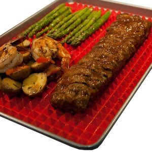 Silicone Oven and BBQ Mat