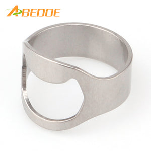 Unique Stainless Steel  Ring  Bottle Opener