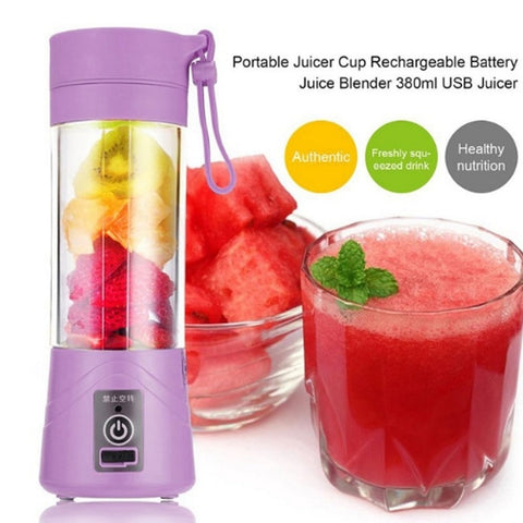 Personal Size Portable Mini USB Rechargeable Blender Mixer