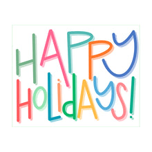 Happy Holidays - Multicolor - 2020 Holiday Card