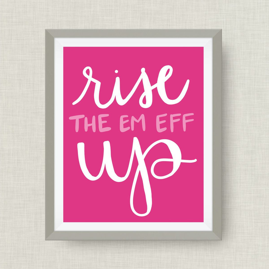 rise the em eff up - option of Gold Foil