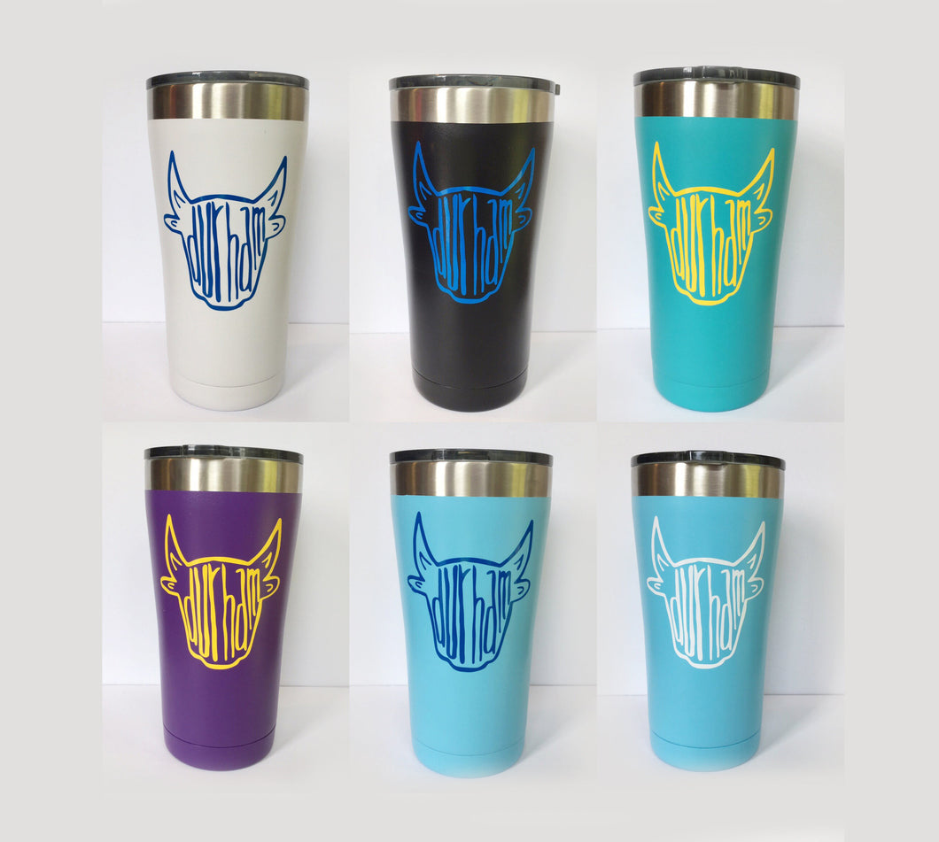 tumbler - durham tumbler, bull tumbler, choice of colors
