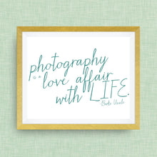 photography print, love affair with life, option of gold foil print