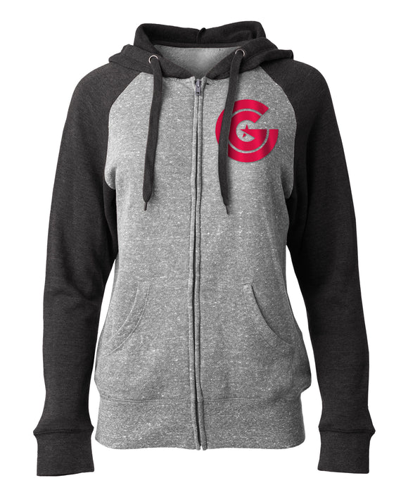 Clutch Gaming Women's Full Zip Sweater