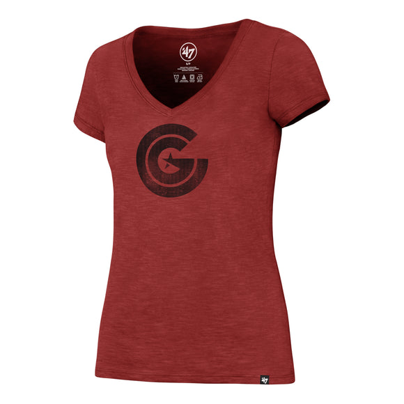 Women's Clutch Gaming Red Scrum T-Shirt