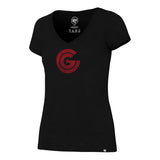 Women's Clutch Gaming Black Scrum T-Shirt