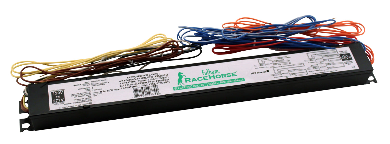 T5 Ho Replacement Ballast 54 Watt 4 Lamp 120 277 Volts Hydro King How To Wire A For 3 Lamps