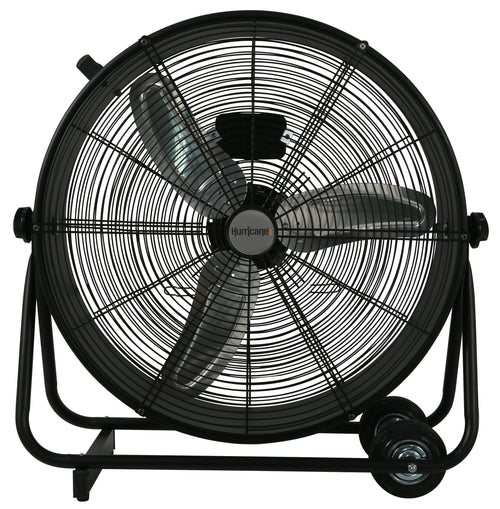 Hurricane® Pro High Velocity Metal Drum Fan 24 in