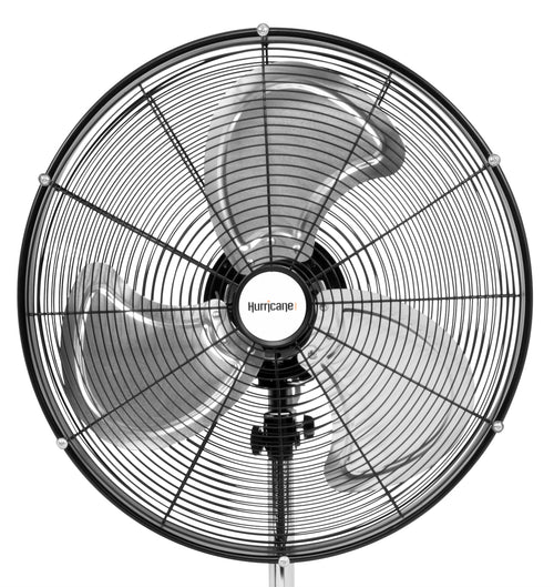 Hurricane® Pro High Velocity Oscillating Metal Stand Fan 20 in