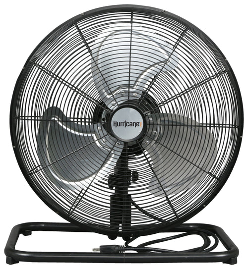 Hurricane® Pro High Velocity Metal Floor Fan 18 in