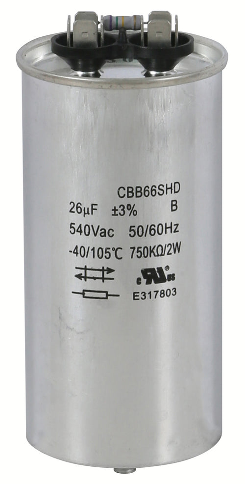 Replacement Capacitors HPS 1000 DE - 36.5 UF / 480 MFD Volt (Single/Wet)