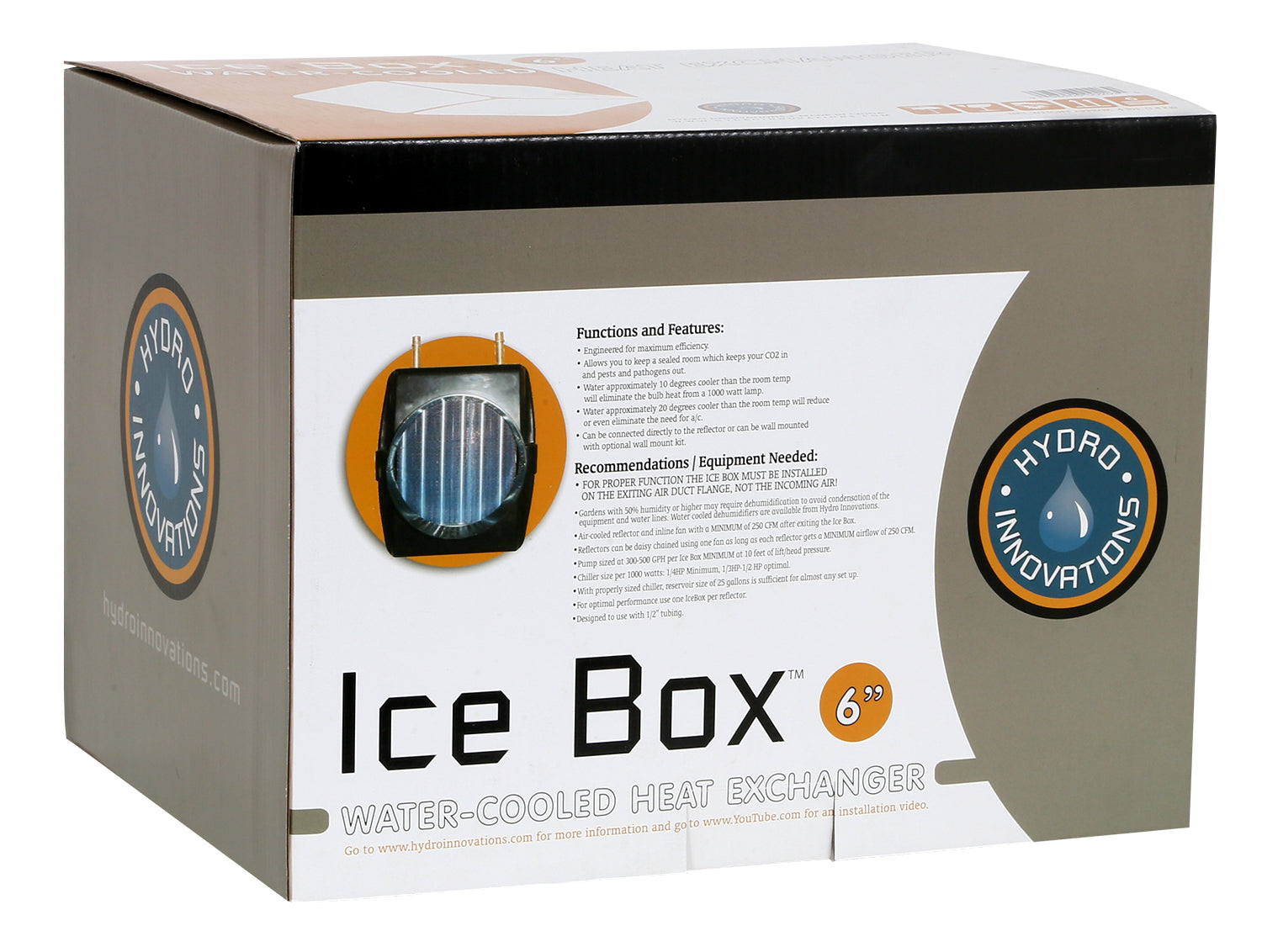 Hydro Innovations Ice Box 6 in