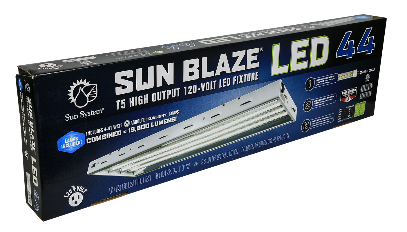 Sun Blaze T5 LED 44 - 4 ft 4 Lamp 120 Volt