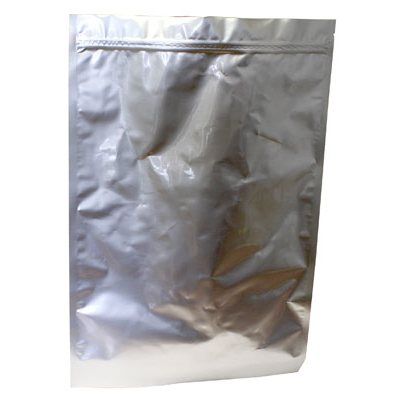 "SEALED METALLIC BAG ZIP LOCK 12"" X 18""X 3"""