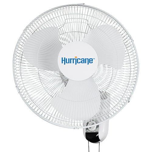 Hurricane® Classic Oscillating Wall Mount Fan 16 in