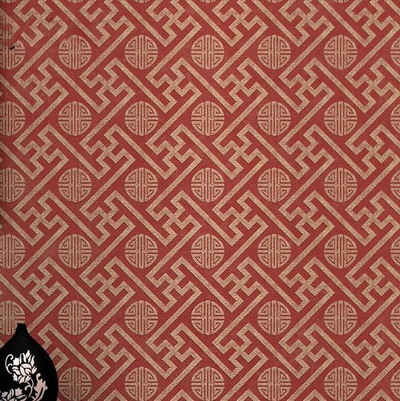 Chinoiserie-chic-chinese-style-wallpaper-oriental-wallcovering-red