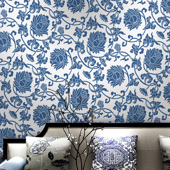 classic-patterned-chinoiserie-wallpaper-modern-chinese-style-wallcovering-oriental-style-chinoiserie-chic-blue