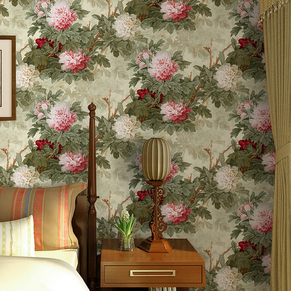 chinoiserie-wallpaper-chinese-style-floral-wallcovering-5.3-㎡-oriental-decor